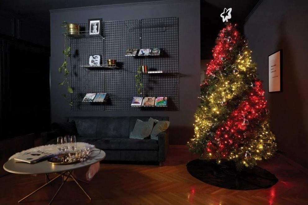 Božično-novoletna okrasitev doma