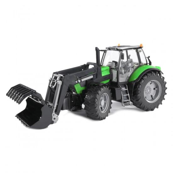 Bruder traktor s sprednjo nakladalko Deutz agrotron 03081