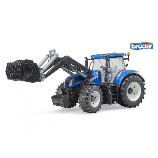 Bruder New Holland T7.315 traktor z nakladalko