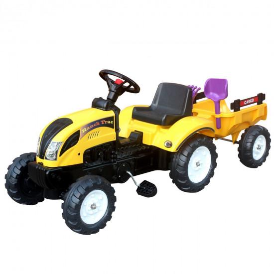 Traktor s prikolico 123x42x51