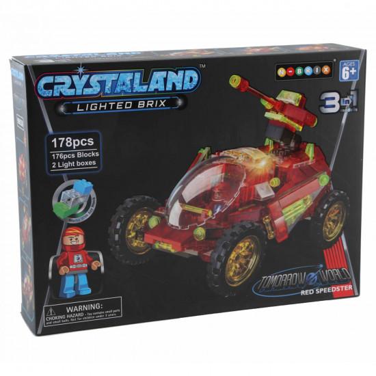 Crystaland avto 3v1 kocke