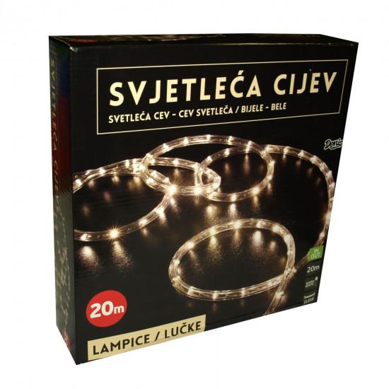 Lučke LED svetlobna vrv 20m