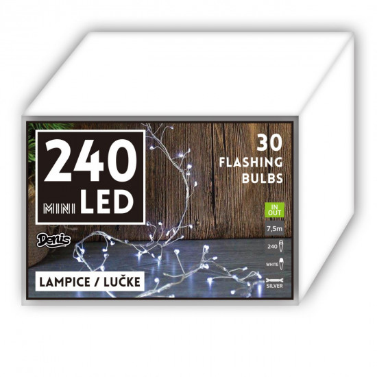 Lučke mini 240 LED