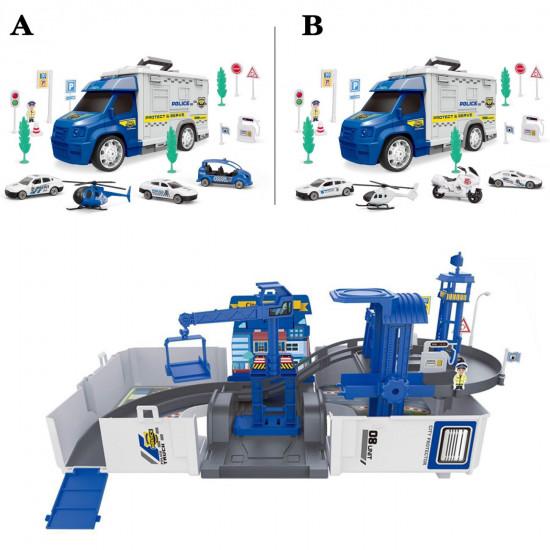 Tovornjak garaža