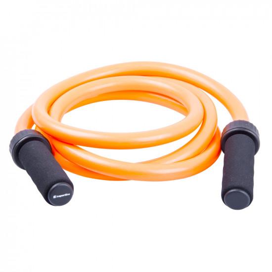 Obtežena kolebnica inSPORTline Jumpster 1500g - oranžna