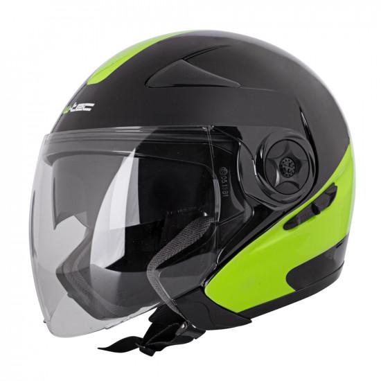 Moto čelada W-TEC Neikko Black-Fluo