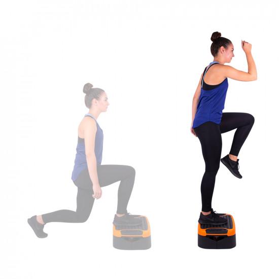 Multifunkcijski aerobic step inSPORTline Multifun
