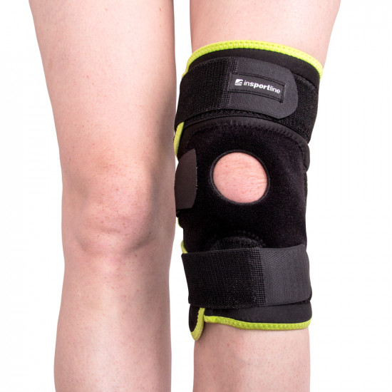 Magnetna bandaža za koleno iz bambusa inSPORTline