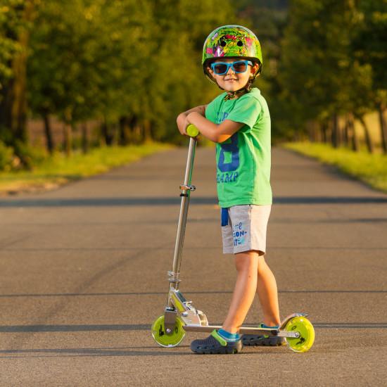 Skiro WORKER Racer Urban Boy s svetlečimi kolesi