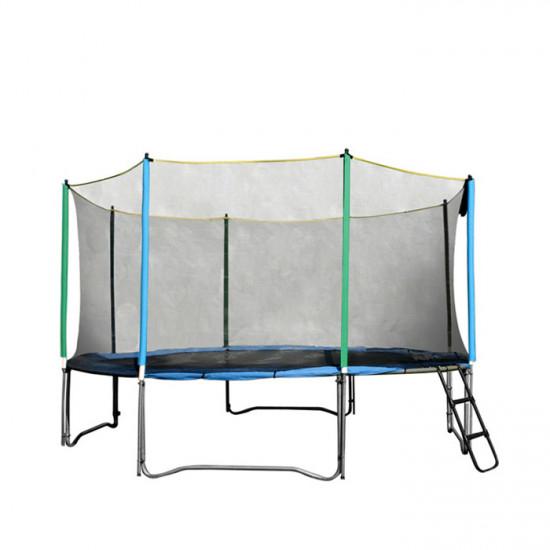 inSPORTline Zaščitna mreža za trampolin 457 cm + 10 cevi