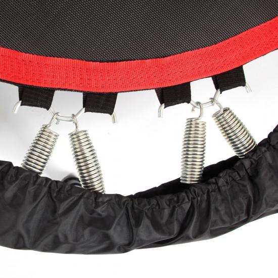 Trampolin z ročajem inSPORTline Profi Digital 122 cm