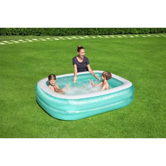 Družinski bazen Bestway Blue 201 x 150 x 51 cm