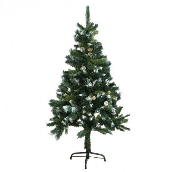 Božično drevo s storži 150cm