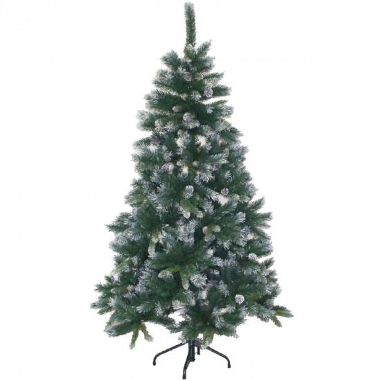 Božično drevo s storži 180cm