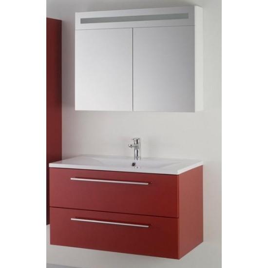Sanotechnik kopalniški set z osvetlitvijo Fiora 90