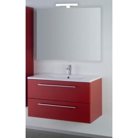 Sanotechnik kopalniški set z ogledalom Fiora 90