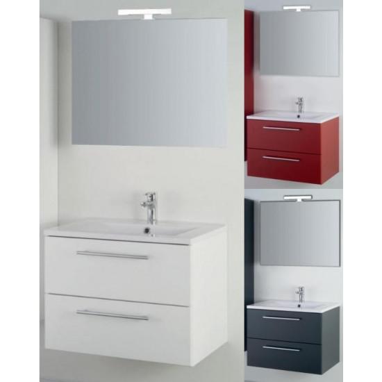 Sanotechnik kopalniški set z ogledalom Fiora 70