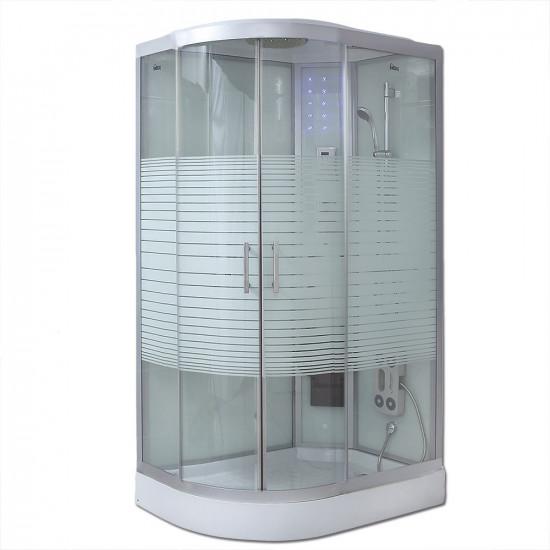 Tuš kabina White Pearl (Cr) 120x80 cm