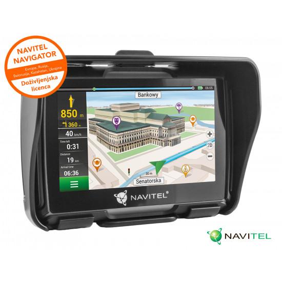 GPS navigacija NAVITEL G550 MOTO 4.3'' IP67 MicroSD + karte celotne Evrope