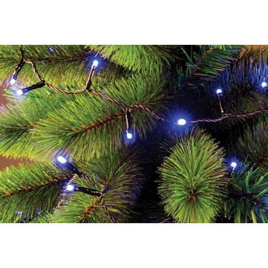 Lučke MQ 320 LED 5 mm, modra + programator