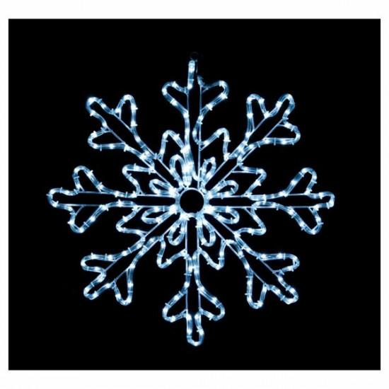 Lučke MQ LED Snežinka, bele