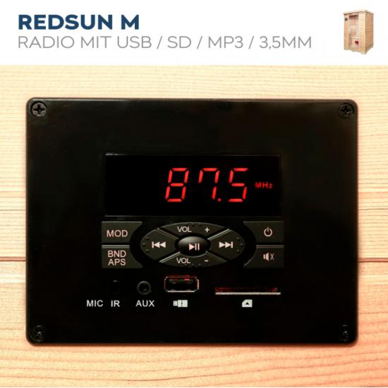 IR savna Redsun M