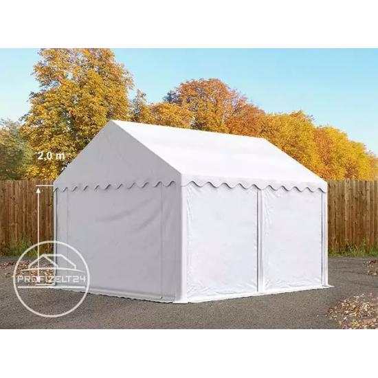 Skladiščni šotor 3x4 m, PVC 500 z osnovnim okvirjem