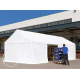 Skladiščni šotor 3x6 m, PVC 500 z osnovnim okvirjem