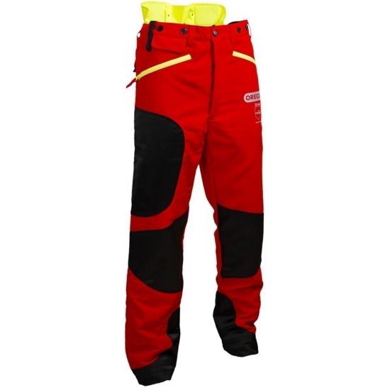 Oregon zaščitne hlače rdeče/rumene Waipoua razred I št.58/60 (XXL)