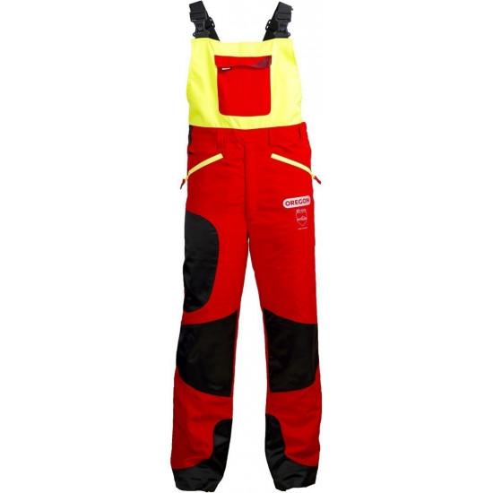 Oregon zaščitne hlače z naramnicami Waipoua razred I št.54/56 (XL)