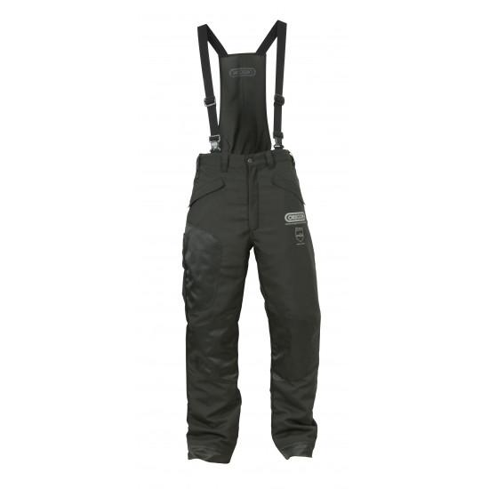 Oregon zaščitne hlače z naramnicami črne Waipoua razred I št.42/44 (S)