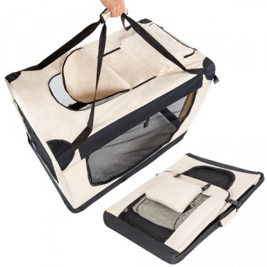 Tekstilna prenosna torba za psa S