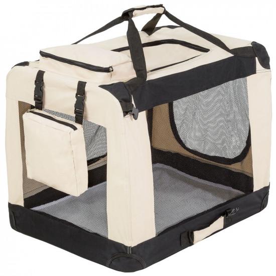 Tekstilna prenosna torba za psa L