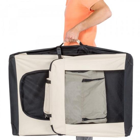 Tekstilna prenosna torba za psa XL