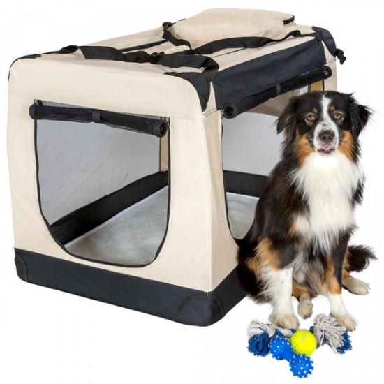 Tekstilna prenosna torba za psa XXXL
