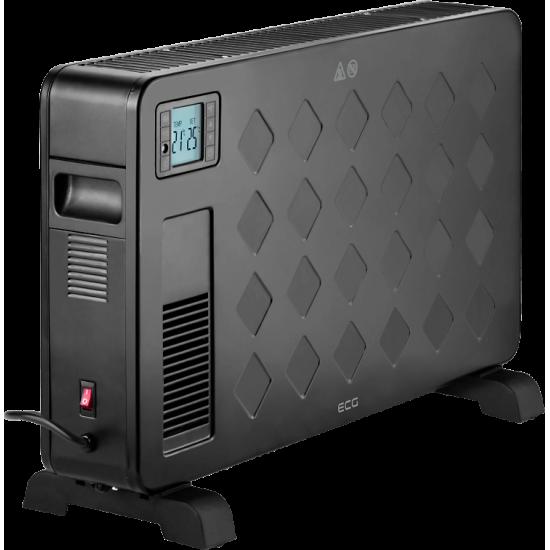 ECG konvekcijski grelnik TK 2040DR črni