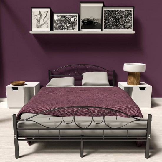 Kovinska postelja Home