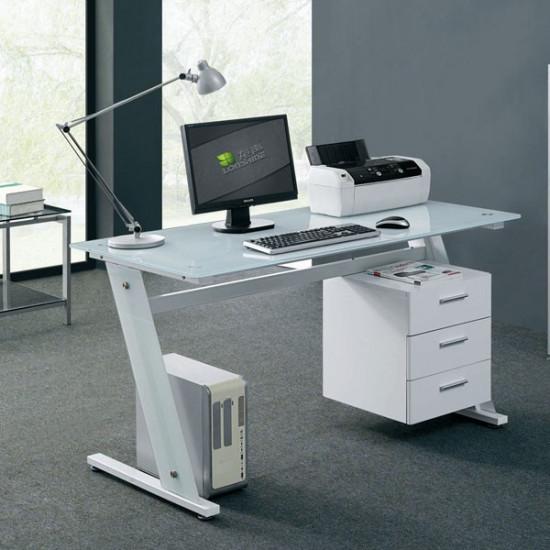 Računalniška miza White