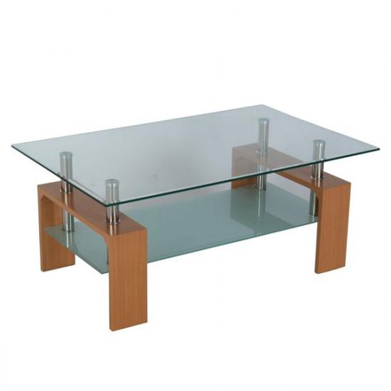 Klubska miza Natur