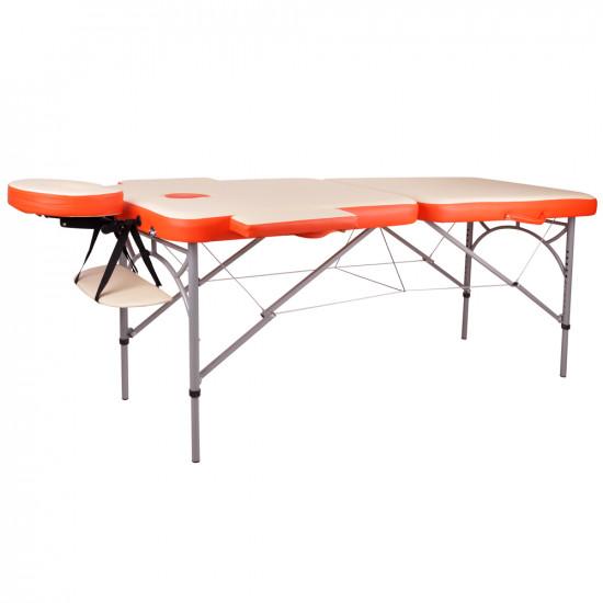 Aluminijasta masažna miza Tamati