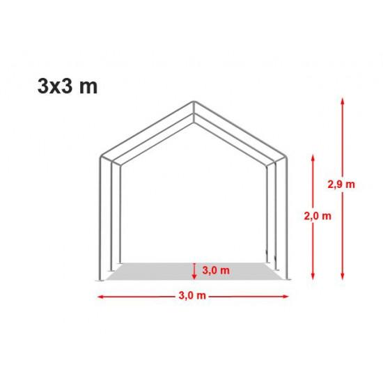 Prireditveni šotor 3x3 Economy - 500g/m2