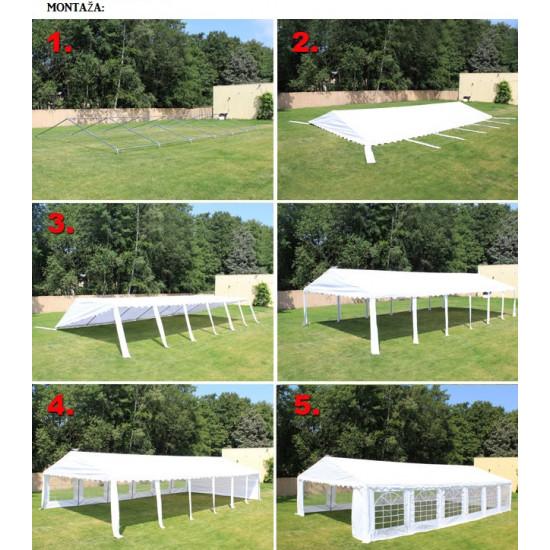 Prireditveni šotor 3x3 Economy - 500g/m2 negorljiv