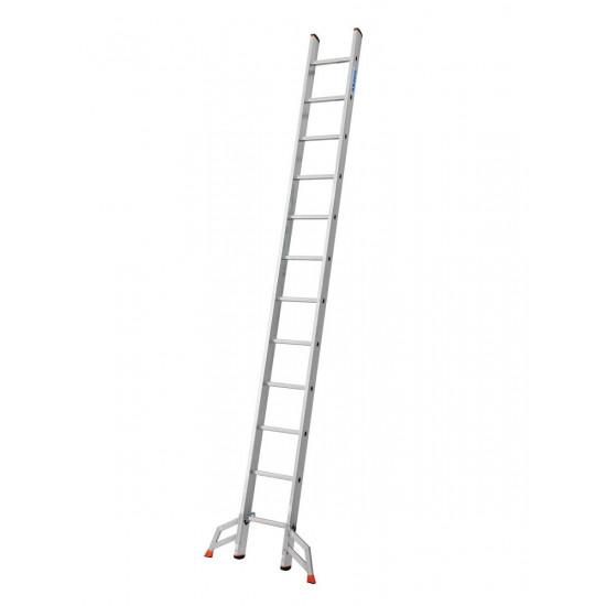Trodelna aluminijasta lestev 3x12 stopnic