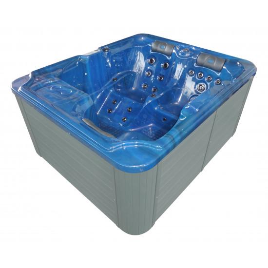 Sanotechnik masažni bazen Oasis moder