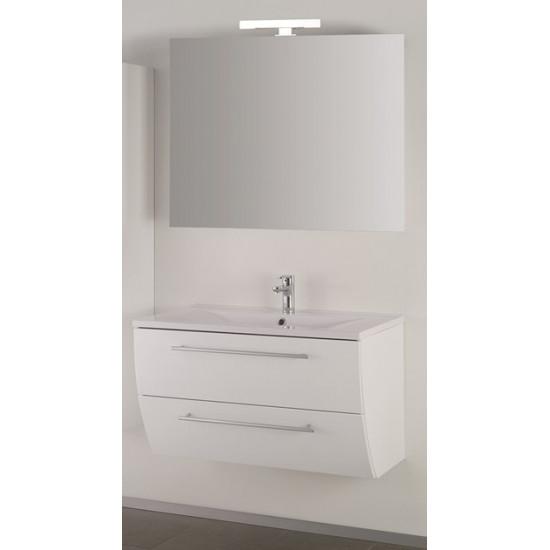 Sanotechnik kopalniški set z ogledalom Sweet 90