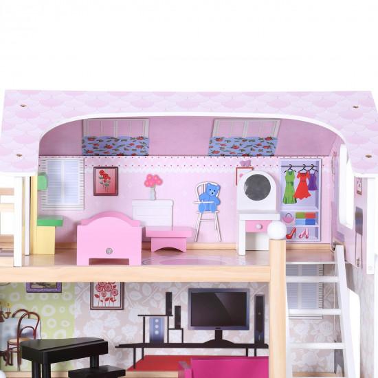 Lesena hišica za lutke 49980