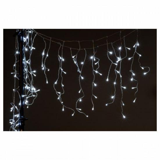 Lučke 200 LED bele ledene sveče 5 x 0.6m