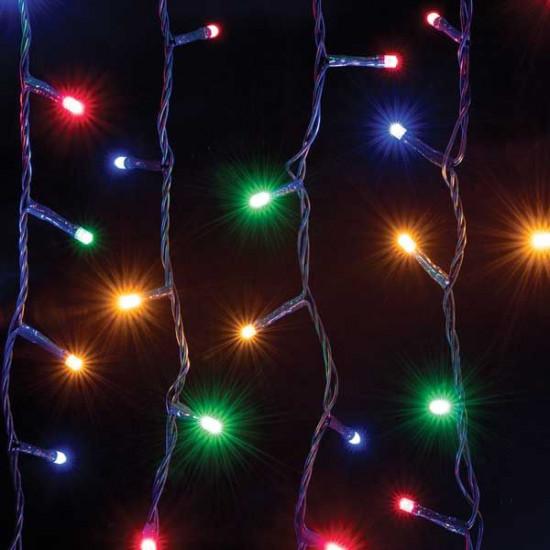 Lučke 800 LED 5 mm Multicolor s programatorjem