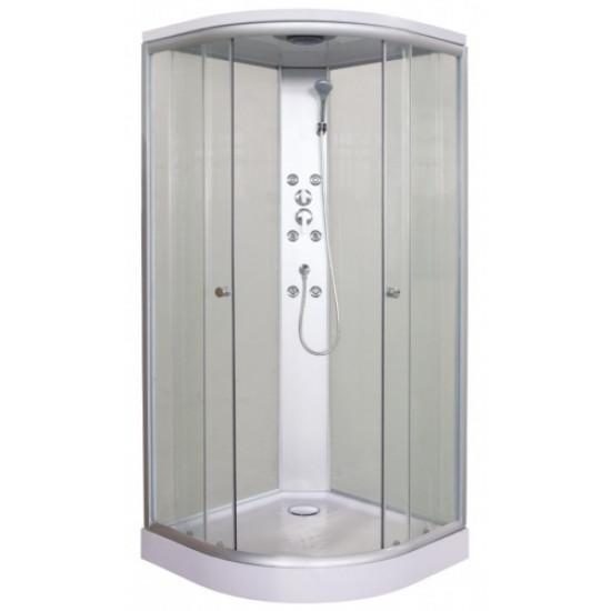 Sanotechnik masažna kompletna tuš kabina TC01 90x90