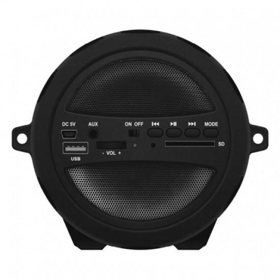 Bluetooth prenosni zvočnik MANTA SPK204FM PIPE 2.1 HIFI BT/USB/MicroSD/Radio FM